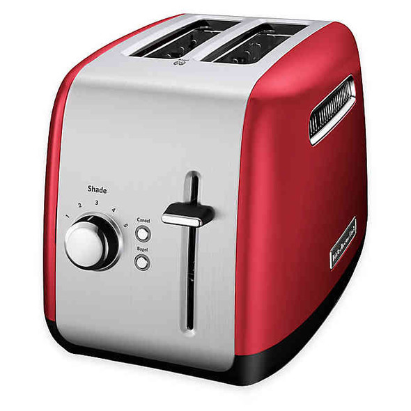 KitchenAid® 2-Slice All-Metal Toaster in Empire Red