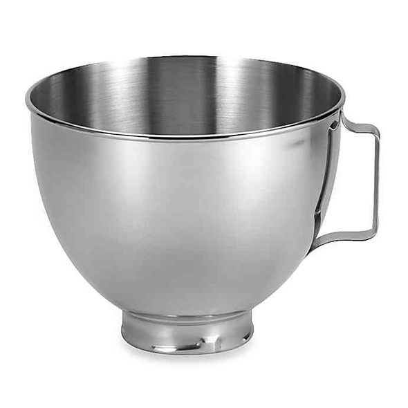 KitchenAid® 4.5 qt. Polished Stainless Steel Bowl with Handle