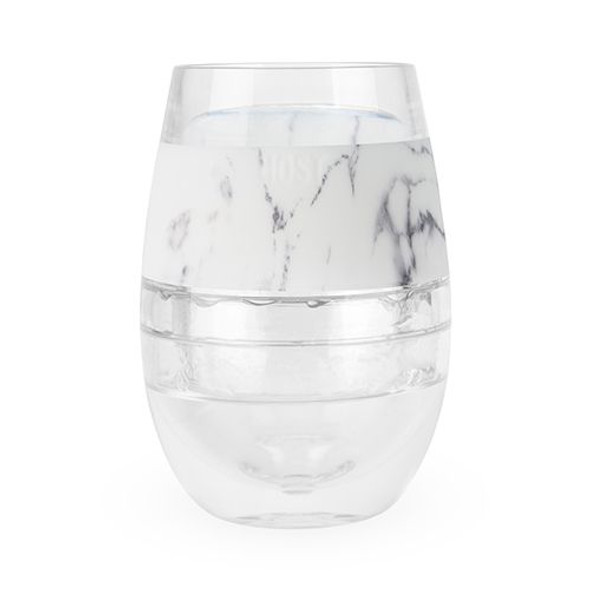 Host® Wine FREEZE™ Cooling Stemless Wine Glass in Marble