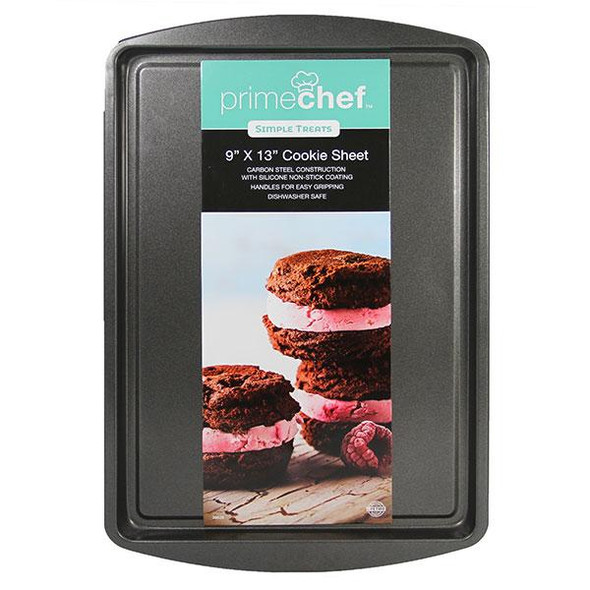 """Prime Chef™ 9"""" x 13"""" Nonstick Cookie Sheet"""