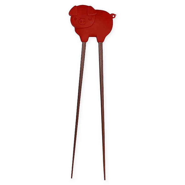 Talisman Designs Bacon Tongs in Red