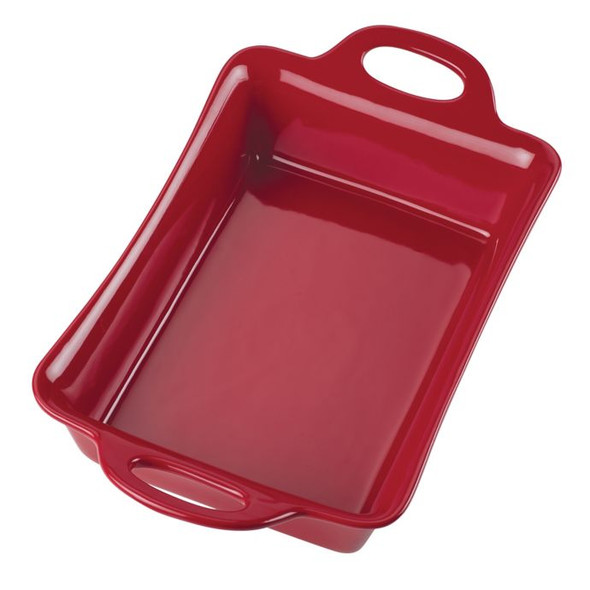 Rachael Ray™ Ceramics 9-Inch x 13-Inch Rectangular Baker in Red