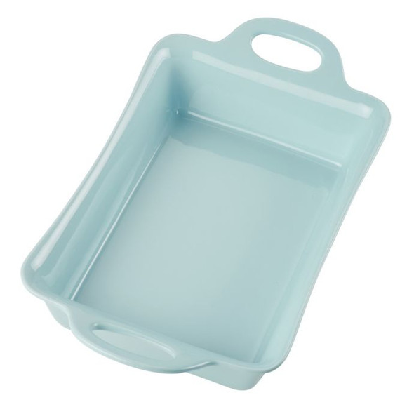 Rachael Ray™ Ceramics 9-Inch x 13-Inch Rectangular Baker in Light Blue