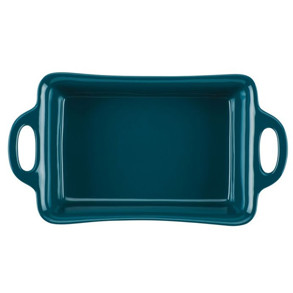Rachael Ray™ Ceramics 9-Inch x 13-Inch Rectangular Baker in Teal