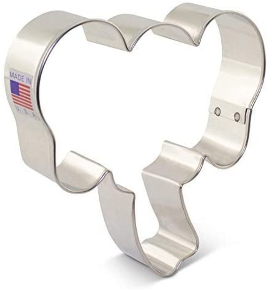 Ann Clark Elephant Face Cookie Cutter by Delores Sword