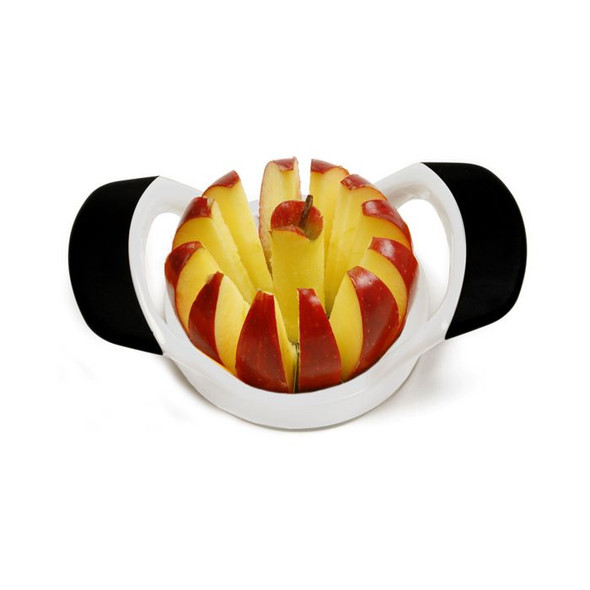 Norpro® Grip-EZ Fruit Wedger and Corer Set with 12 Blades in White