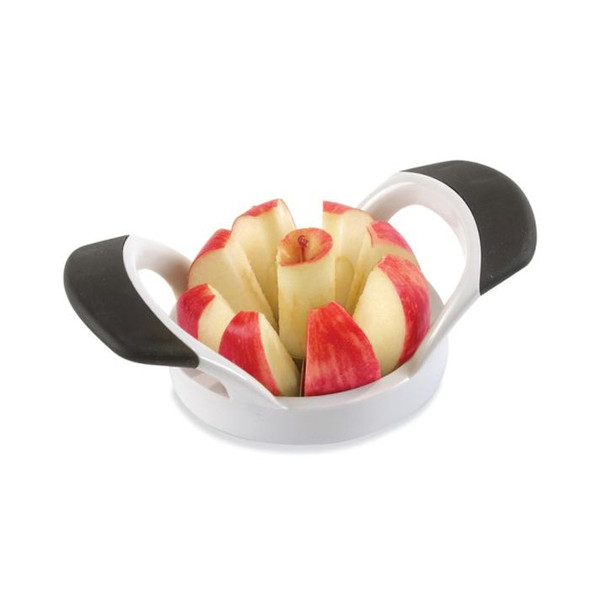Norpro® Grip-EZ Fruit Wedger and Corer Set with 8 Blades in White