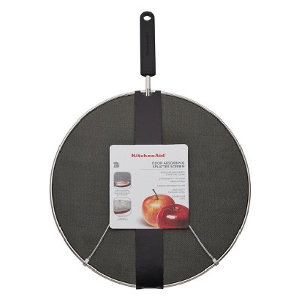 KitchenAid® Splatter Screen Odor Absorbing in Black