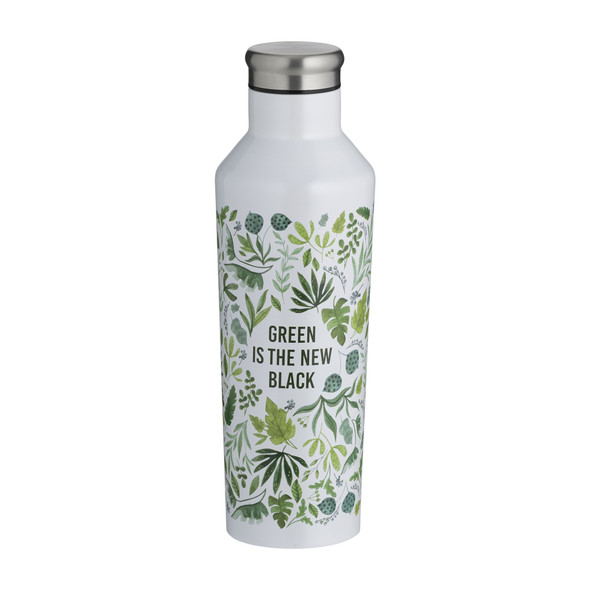 Typhoon® Pure Active 17 oz. Green is the New Black Double Wall Bottle