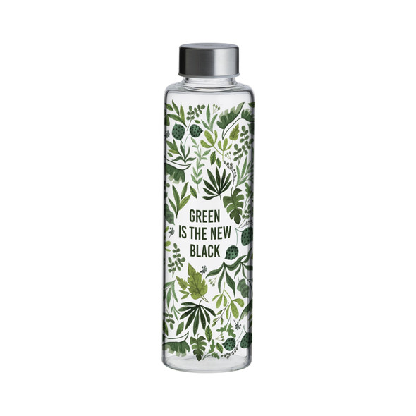 Typhoon® Pure Green is the New Black 21 oz. Glass Bottle