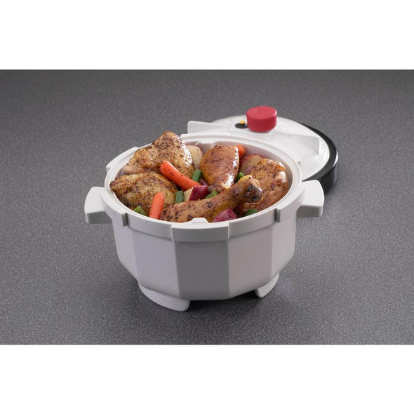Nordic Ware® Microwave Tender Cooker in White