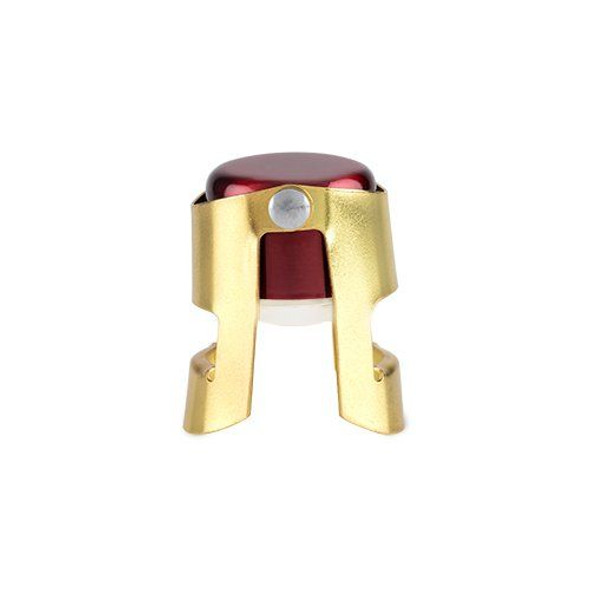 Red and Gold Champagne Stopper by Twine®