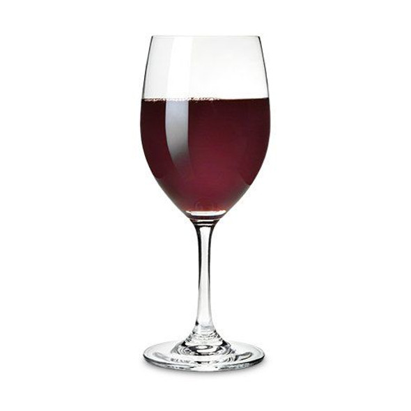 Red And White Tasting Glasses by True (Set of 4)