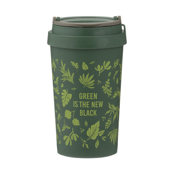 Typhoon® PURE Green is the New Black 13 oz. Wheat Fiber Travel Mug