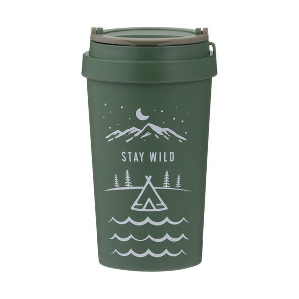 Typhoon® PURE Stay Wild 13 oz. Wheat Fiber Travel Mug