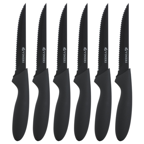 Viners Everyday 4.5-Inch Steak Knives (Set of 6)