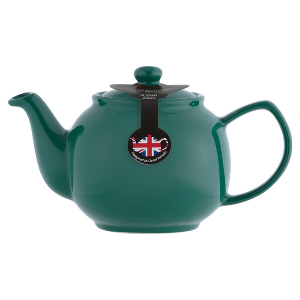 Price & Kensington® 6 Cup Stoneware Teapot in Emerald