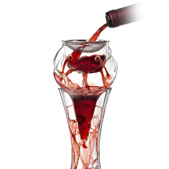 Final Touch® Conundrum Aerator for Wine Decanters