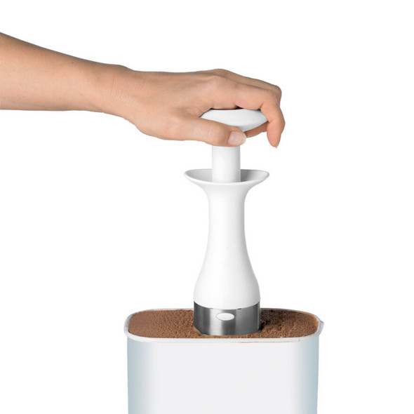 Cuisipro Ice Cream Scoop & Stack in White