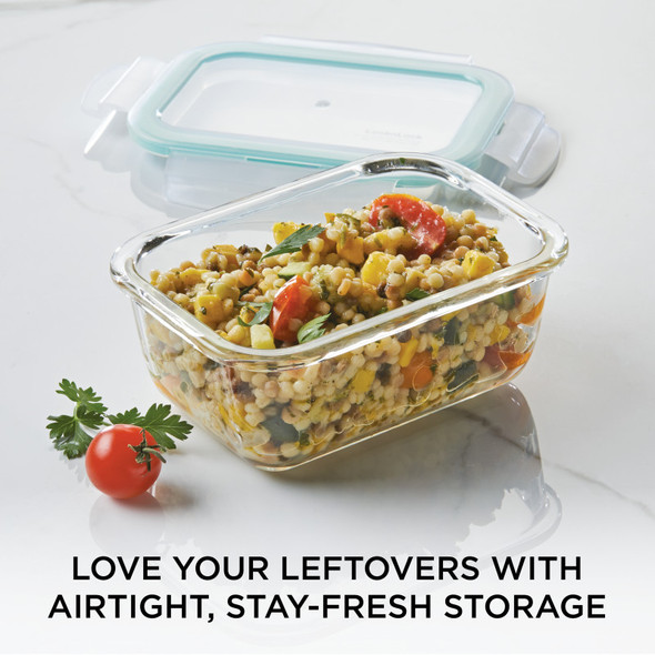 Lock & Lock Purely Better™ 20 oz. Glass Food Storage Container