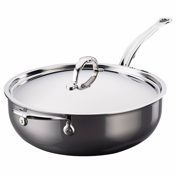 Hestan NanoBond™ 5 Qt. Covered Stainless Steel Essential Pan
