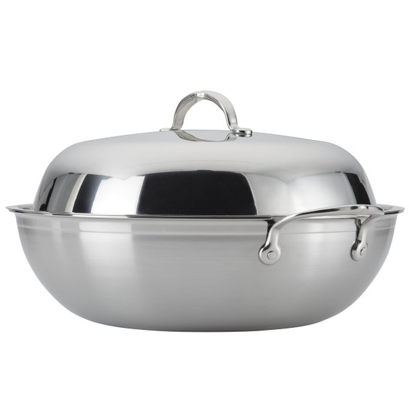 Hestan ProBond™ 14-Inch Covered Stainless Steel Wok