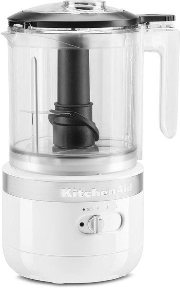 KitchenAid® Cordless 5 Cup Food Chopper in White