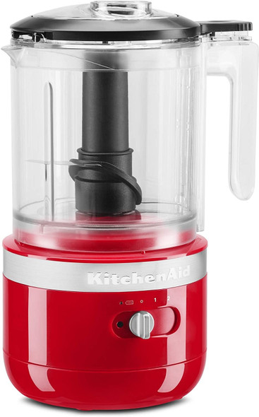 KitchenAid® Cordless 5 Cup Food Chopper in Passion Red
