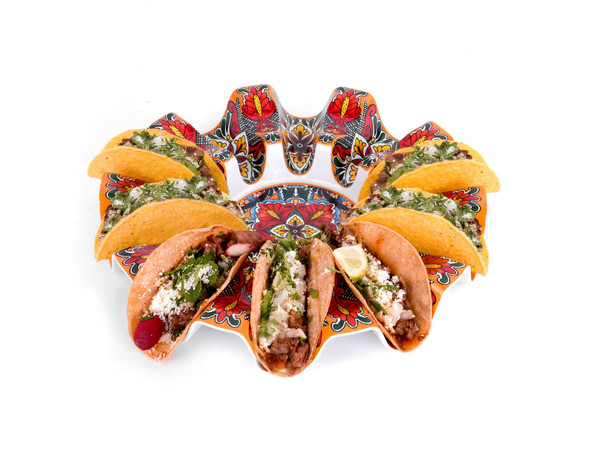 Prepara® Taco Carousel in Red