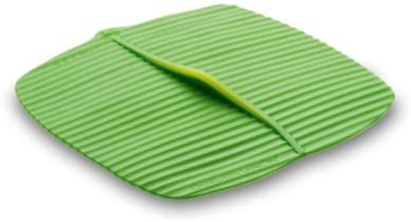 Charles Viancin® 10 x 10 Square Banana Leaf Baking Lid in Green