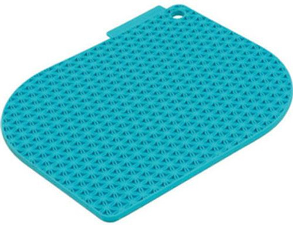 Charles Viancin® Honeycomb Pot Holder in Turquoise
