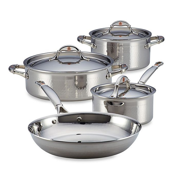 Ruffoni Symphonia Prima 7-Piece Stainless Steel Cookware Set