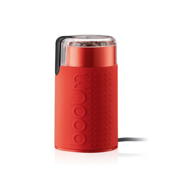 Bodum® Bistro Electric Coffee Grinder in Red