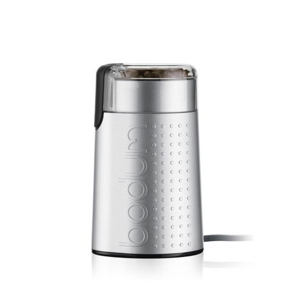 Bodum® Bistro Electric Coffee Grinder in Silver