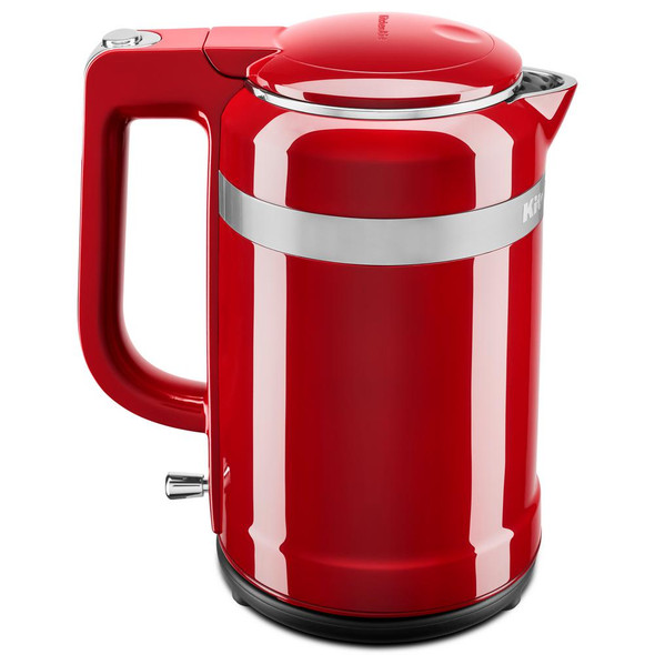 KitchenAid® 1.5 Liter Electric Kettle with Dual-Wall Insulation in Empire Red