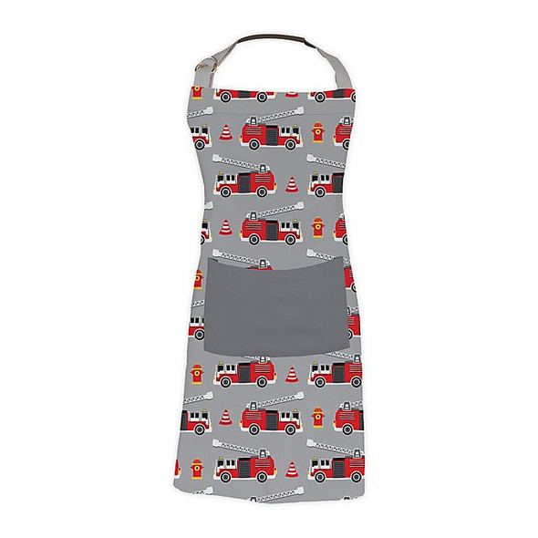 MU Kitchen™ Fire Truck Kid's Apron