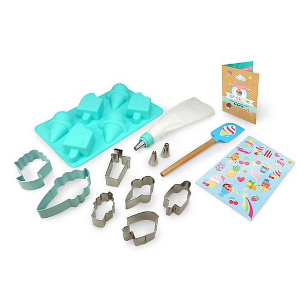 Handstand Kitchen 15-Piece Ice Cream Parlor Ultimate Baking Party Set