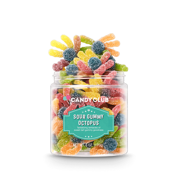 Candy Club 6 oz. Sour Gummy Octopus