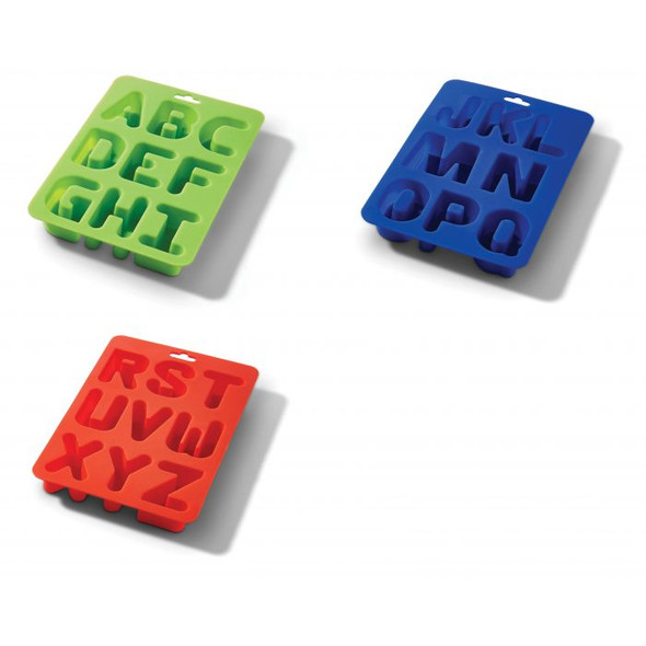 HIC Kitchen Letters Ice Tray