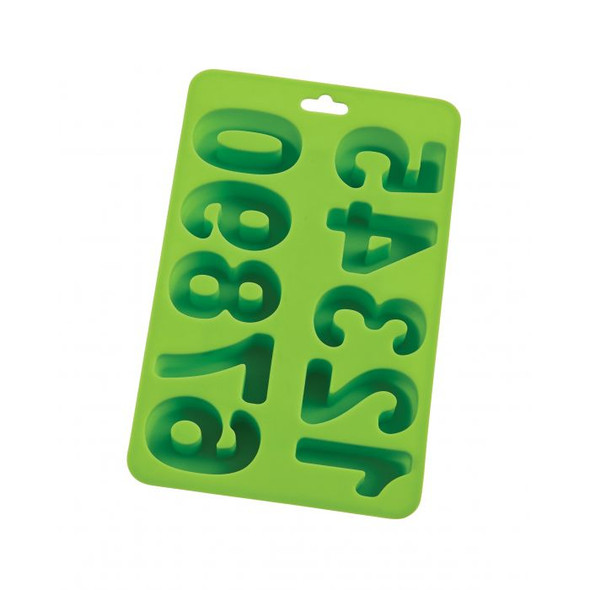 HIC Kitchen Numbers Ice Tray in Green