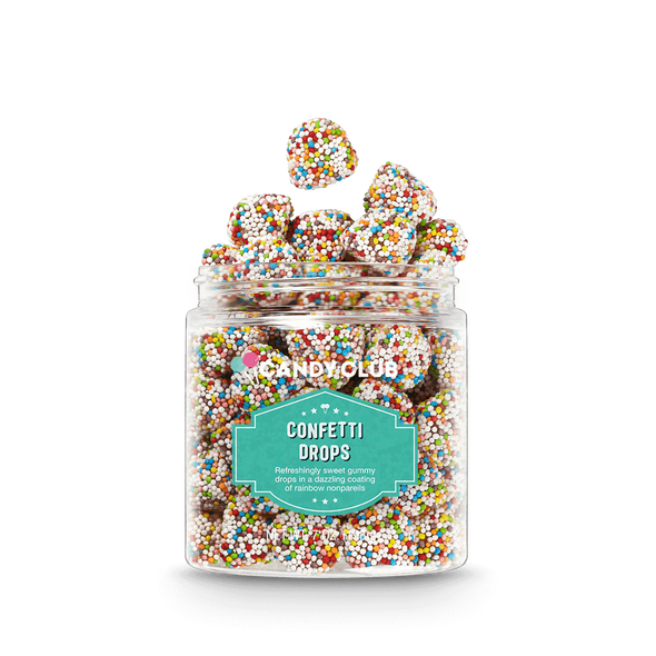 Candy Club 7 oz. Confetti Drops