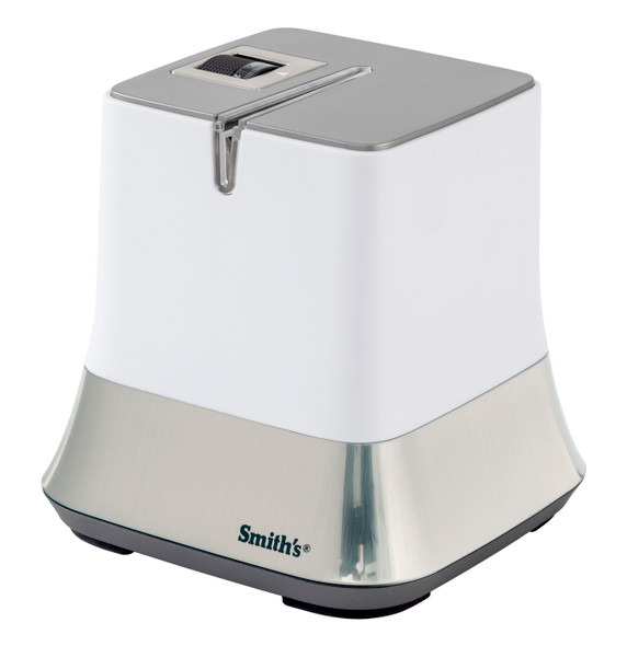 Smith's Mesa® Adjustable Diamond Electric knife Sharpener in Artic White