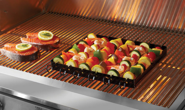 Mr. Bar-B-Q Nonstick Kabob Rack & Skewers
