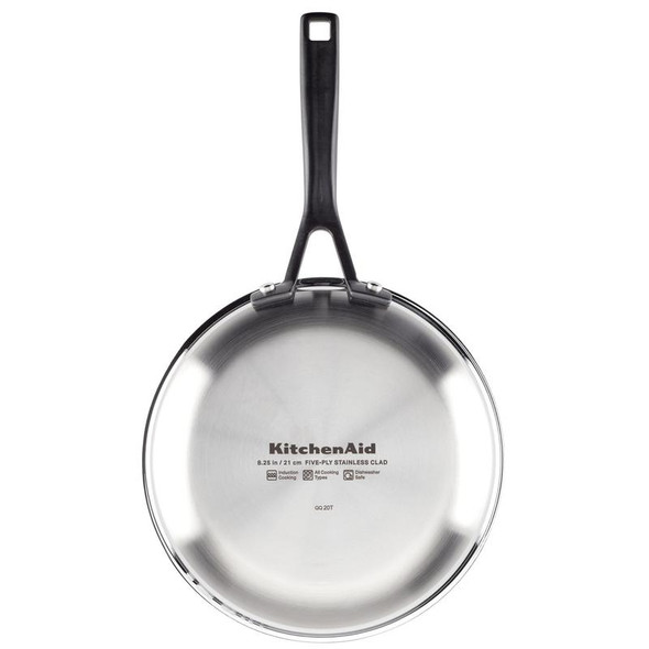 Kitchenaid® 5-Ply Clad Nonstick 8.52-Inch Stainless Steel Fry Pan