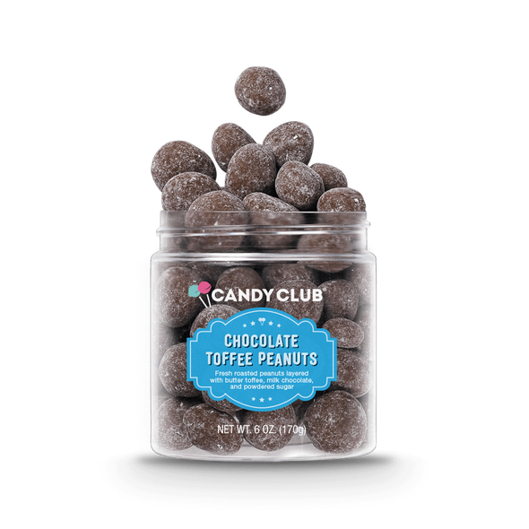 Candy Club 6 oz. Chocolate Toffee Peanuts