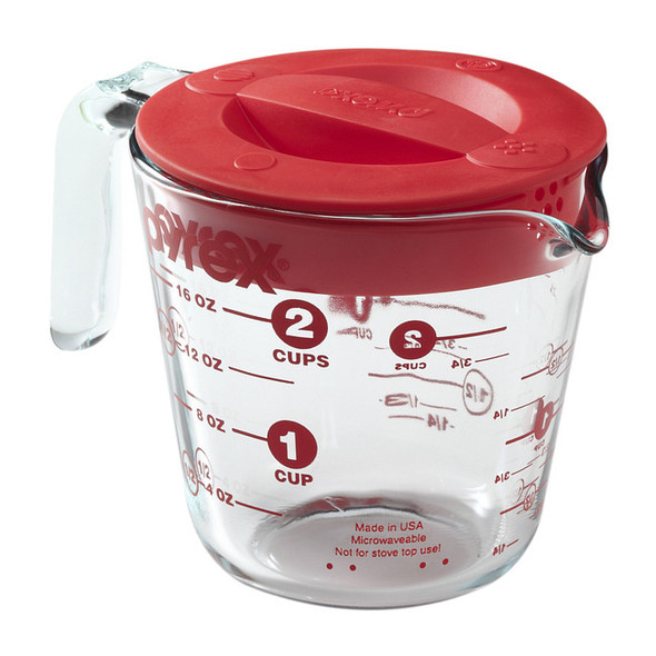 Pyrex® 2-Cup Measuring Cup with Lid