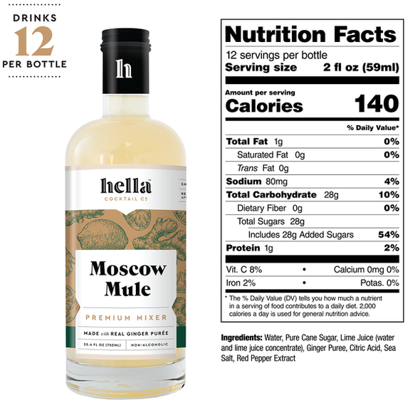 Hella 25.4 oz. Moscow Mule Cocktail Mixer