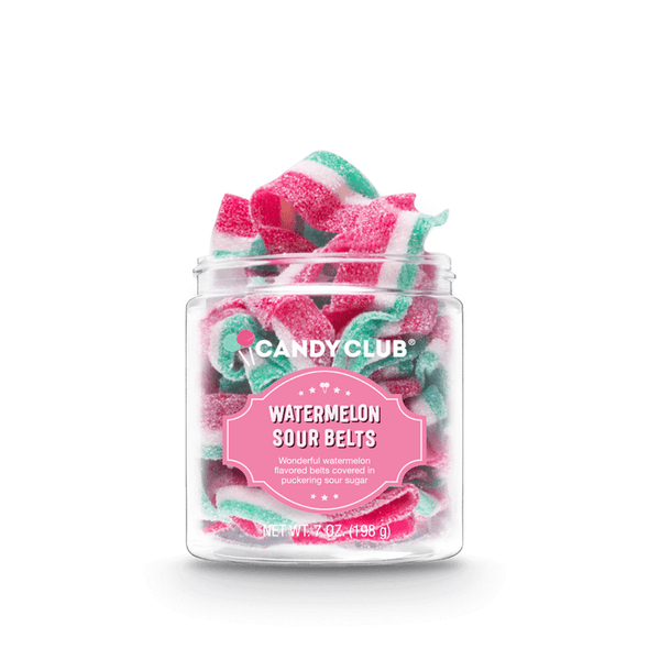 Candy Club 7 oz. Watermelon Sour Belts