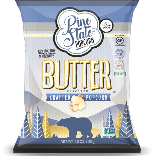 Pine State 5.5 oz. Butter Crafted Popcorn
