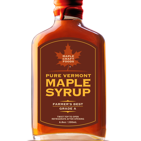 Maple Craft 6.8 oz. Pure Vermont Maple Syrup